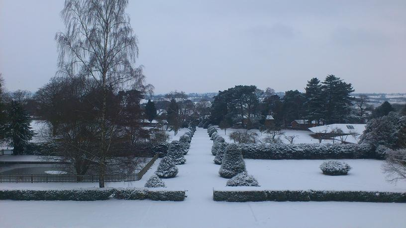 View north from Pitsford Hall.